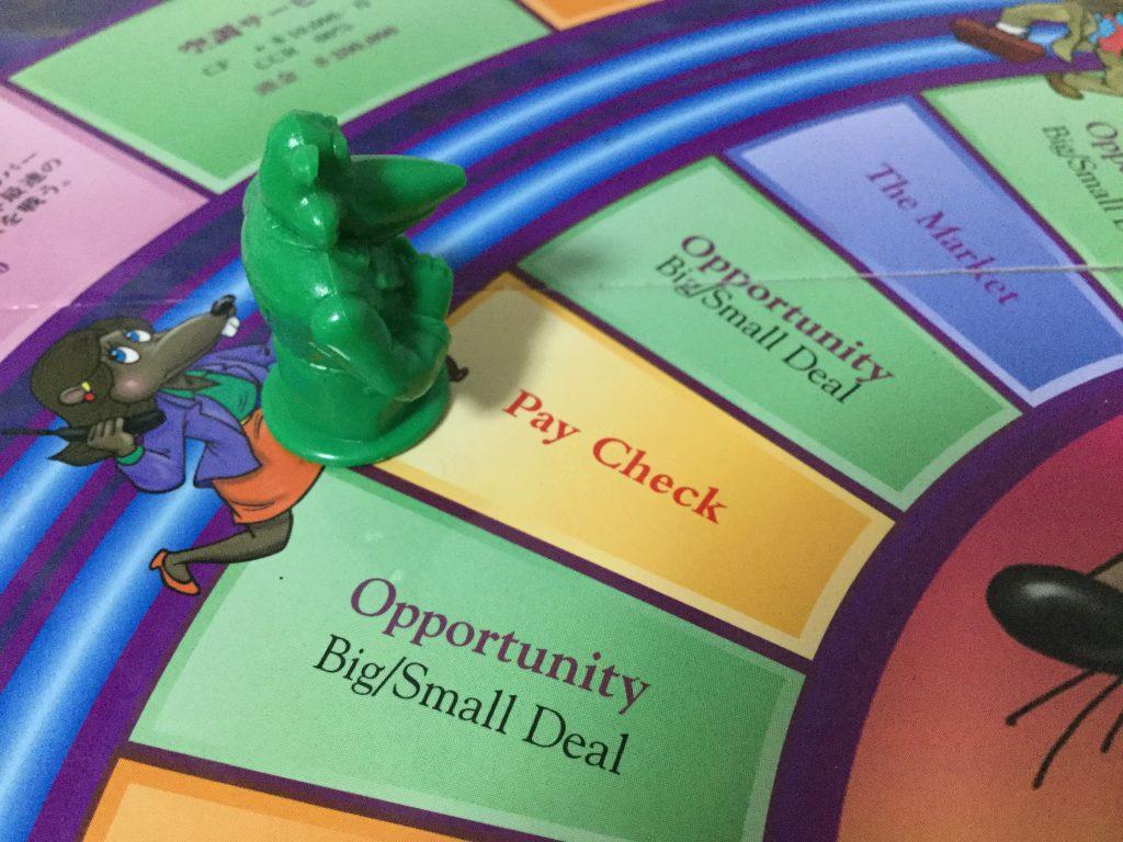 キャッシュフローゲーム Pay Checkマス
